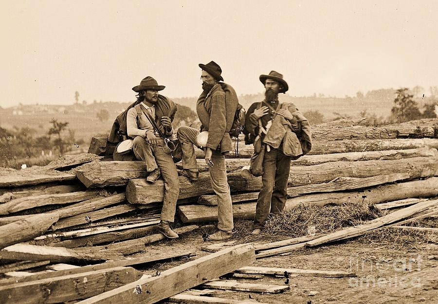 Pd Photograph - Seminary Ridge by Pg Reproductions