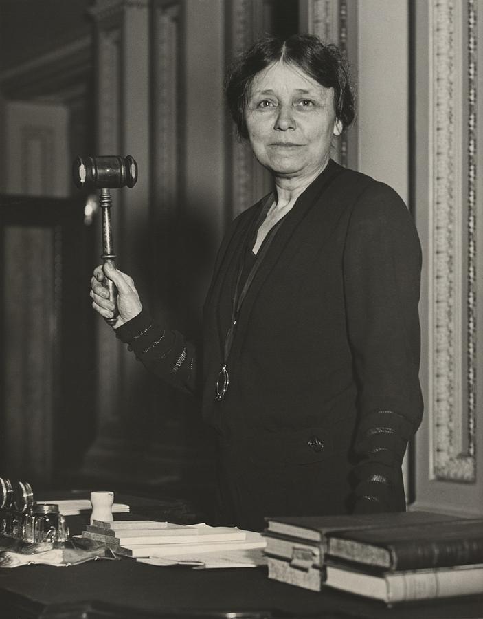 History Photograph - Senator Hattie W. Caraway, Democrat by Everett