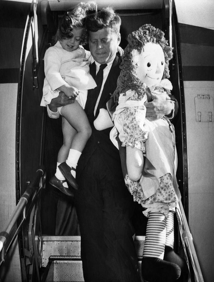 1960s Photograph - Senator John F. Kennedy Right by Everett
