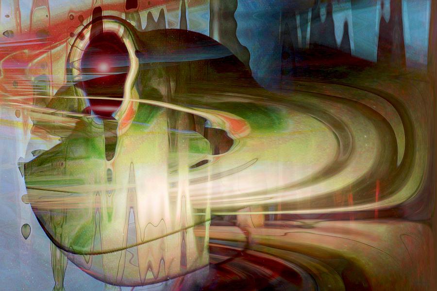 Spheres Digital Art - Sensing The Spheres by Linda Sannuti