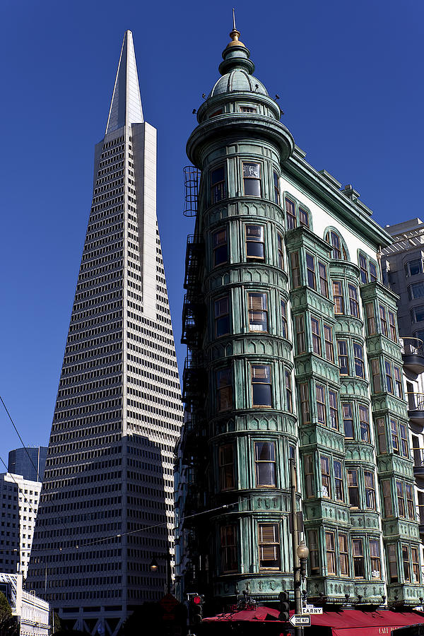Buildings Photograph - Sentinel Building San Francisco by Garry Gay