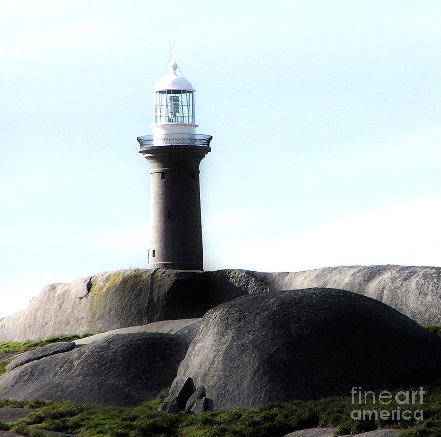 Lighthouse Photograph - Sentinel by Joanne Kocwin