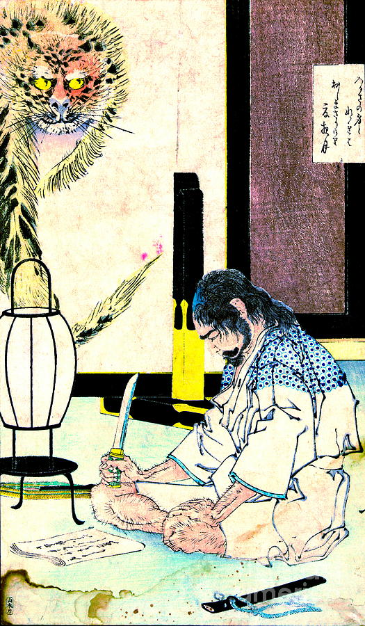 the fine art of seppuku Seppuku (first edition) by abcnt editioned artwork | art collectorz: abcnt seppuku edition size: 80 24 x 18 inches hand-embellished 6-color serigraph on 130lbs mohawk fine art paper $ 7500.