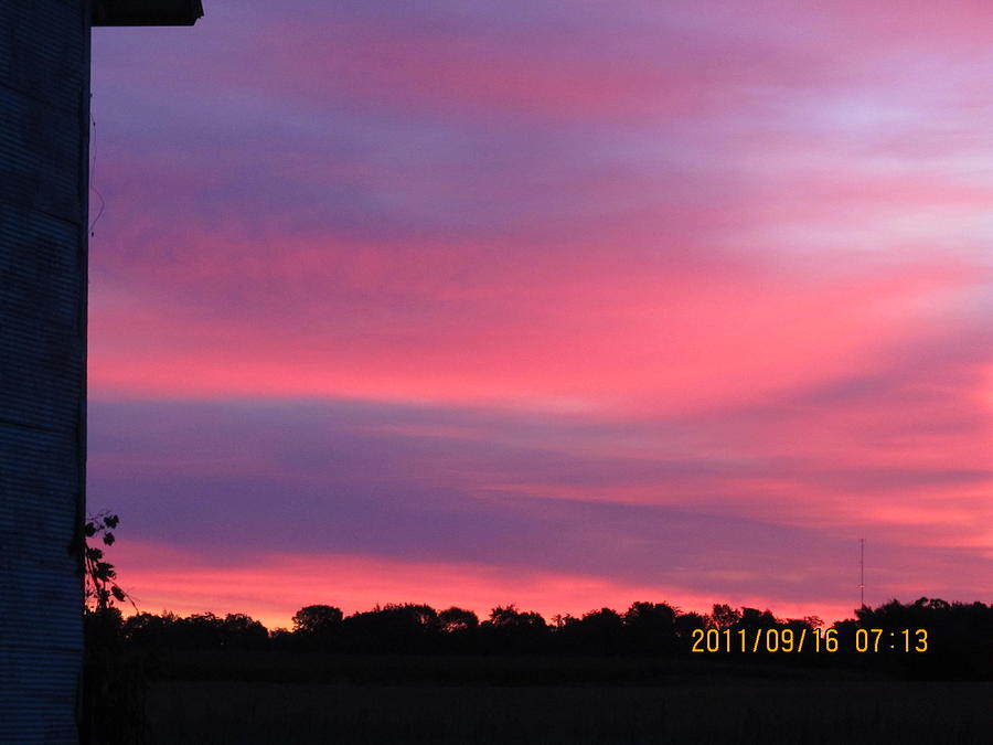 Sun Photograph - September 16 Sunrise Five by Tina M Wenger