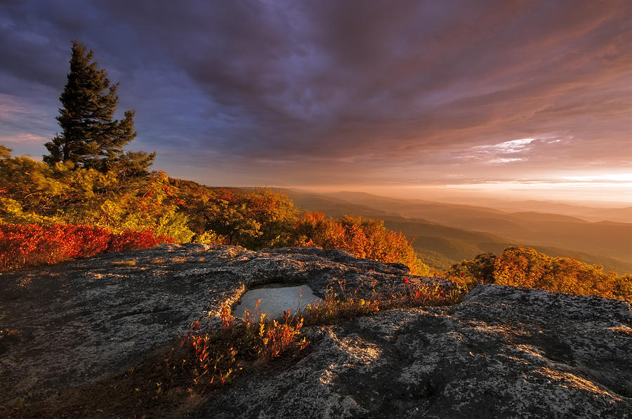 Photo Photograph - September Dawn by Joseph Rossbach