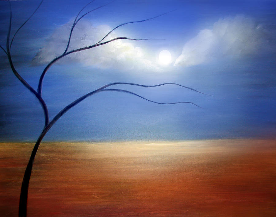 Landscape Painting - Serene by Color Blast
