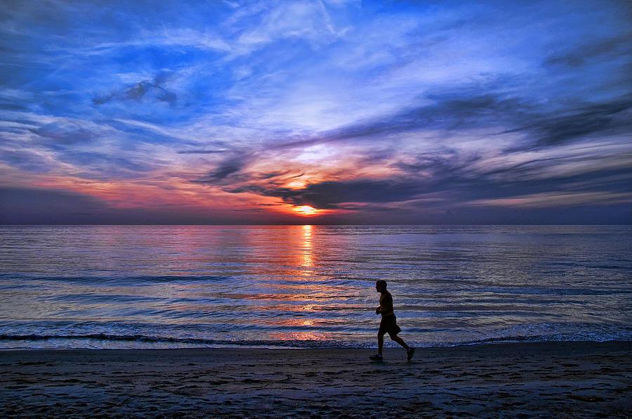 Sunrise Photograph - Serenity by Brian  Metski
