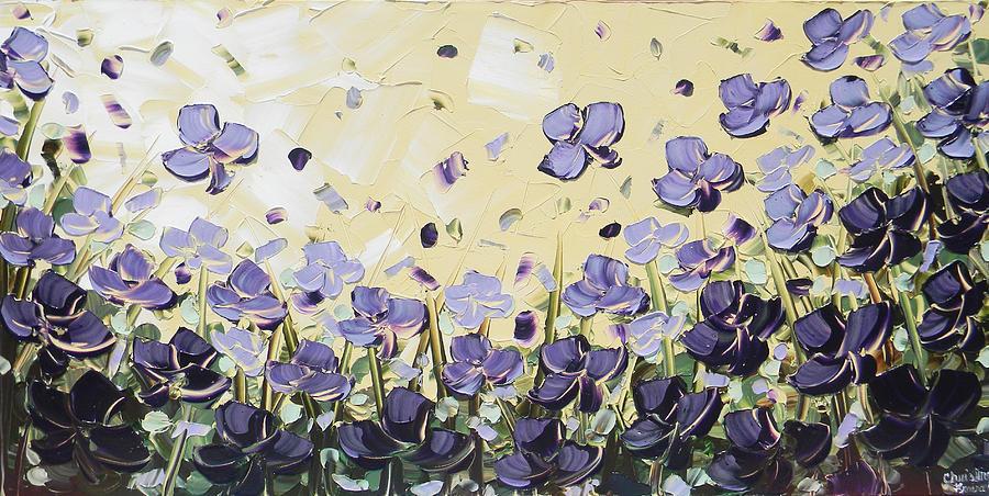 Painting Painting - Serenity by Christine Krainock
