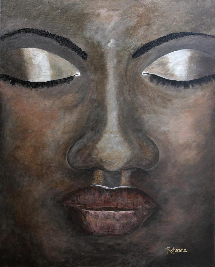 Beauty Painting - Serenity by Judy M Watts-Rohanna
