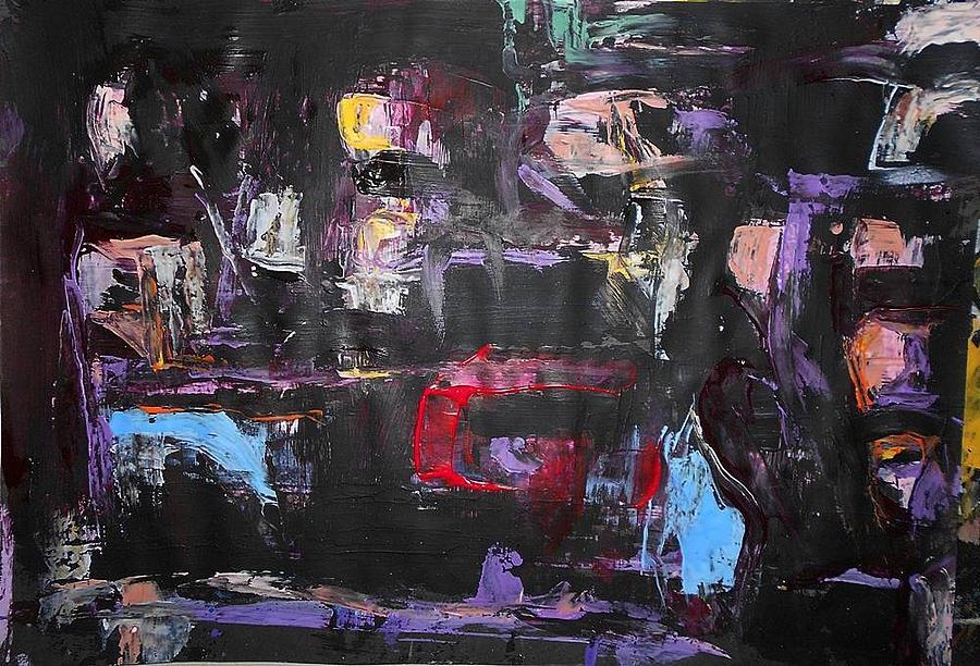 Series 18 No 92 Painting by Ulrich De Balbian