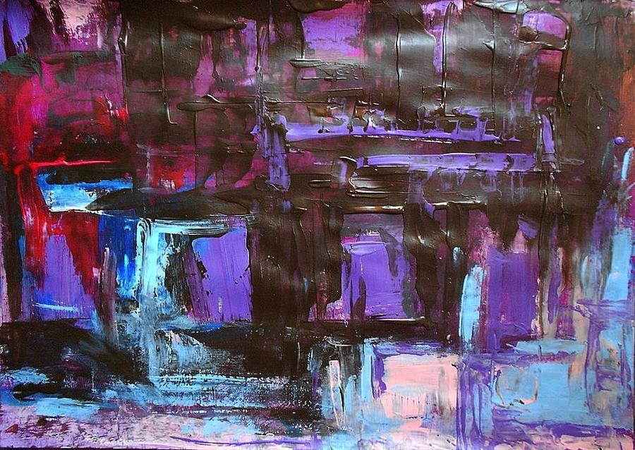 Series 18 No 94 Painting by Ulrich De Balbian