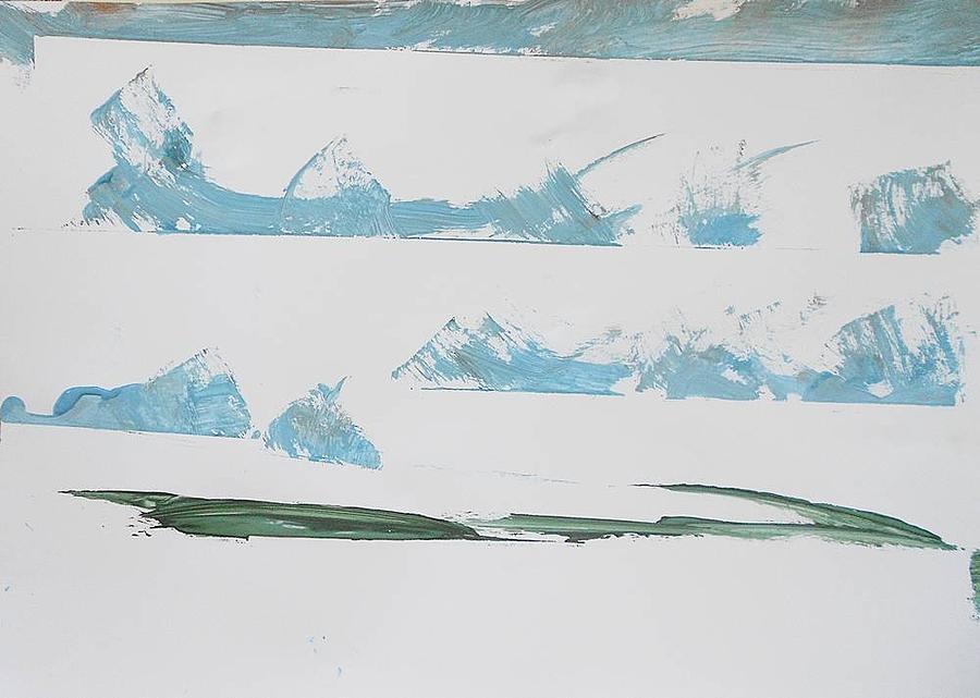 Series 18 No 96 Painting by Ulrich De Balbian
