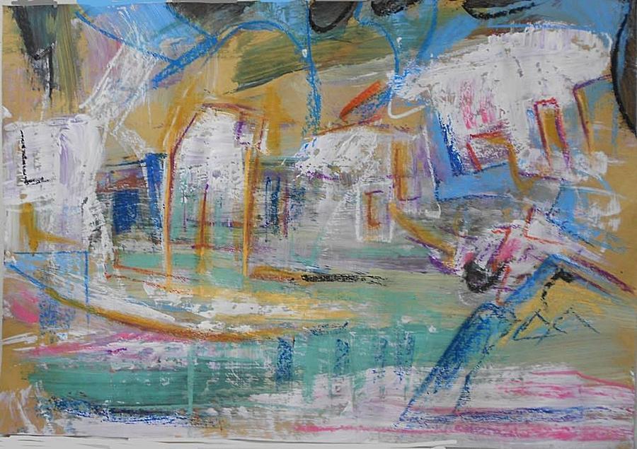 Series 19 7 Painting by Ulrich De Balbian