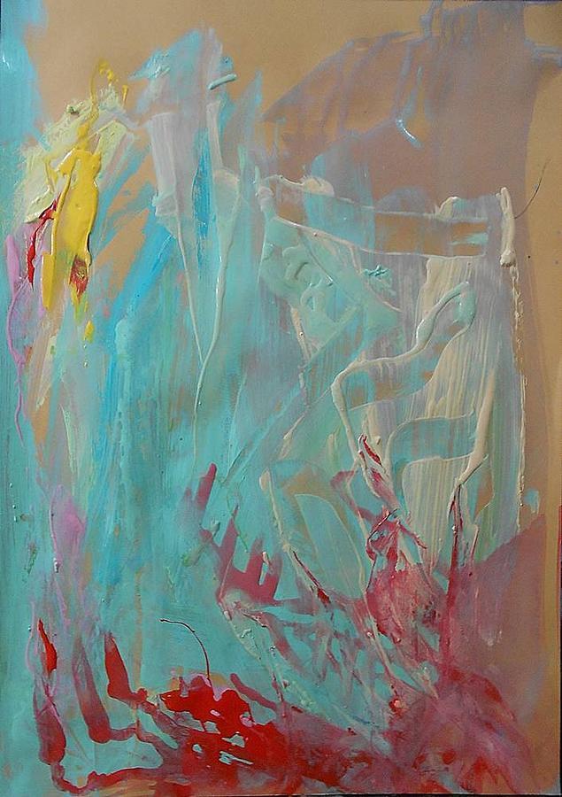 Work Of Art Painting - Series16 6 by Ulrich De Balbian