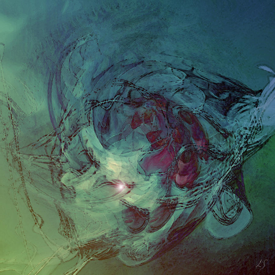 Serpent Head Digital Art - Serpent Head by Linda Sannuti