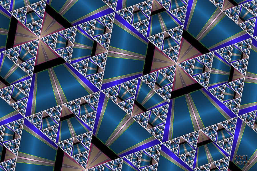 Computer Digital Art - Serpi Fractal Fabric by Manny Lorenzo