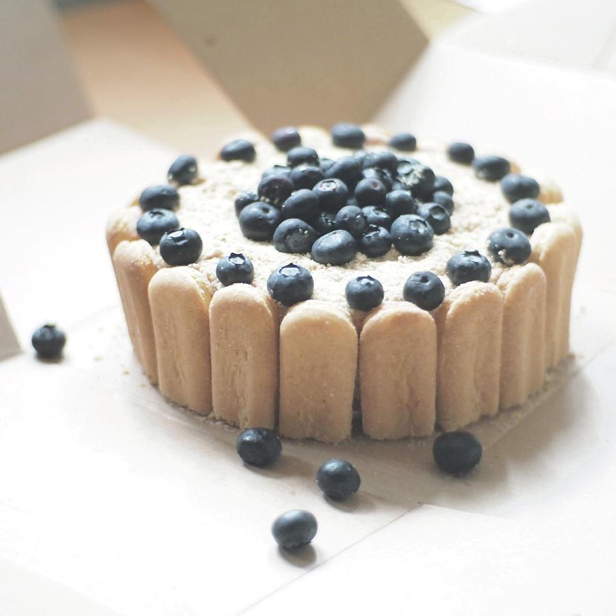 Square Photograph - Serradura Birthday Cake by Daisy*
