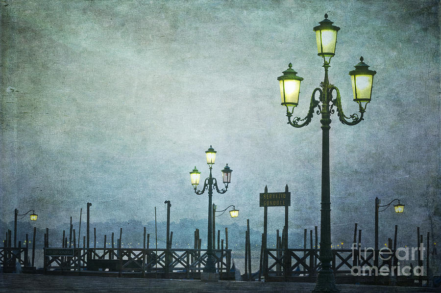 Venice  - Servizio Gondole by Marion Galt