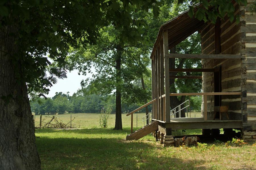 Arkansas Photograph - Settlers Cabin Arkansas 2 by Douglas Barnett