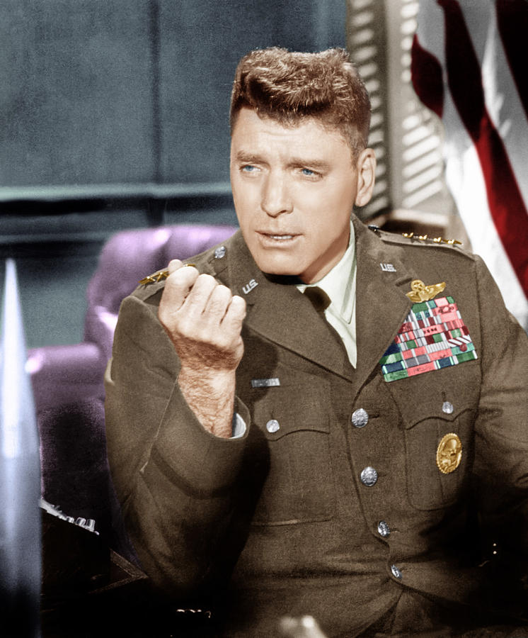 1964 Movies Photograph - Seven Days In May, Burt Lancaster, 1964 by Everett