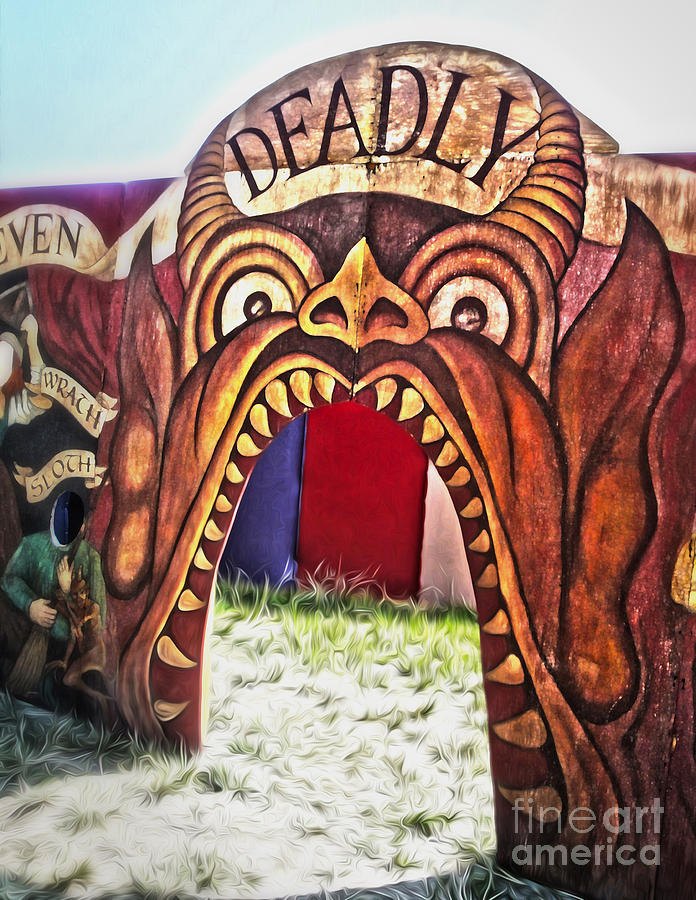 Seven Deadly Sins Painting - Seven Deadly Sins - Devil by Gregory Dyer