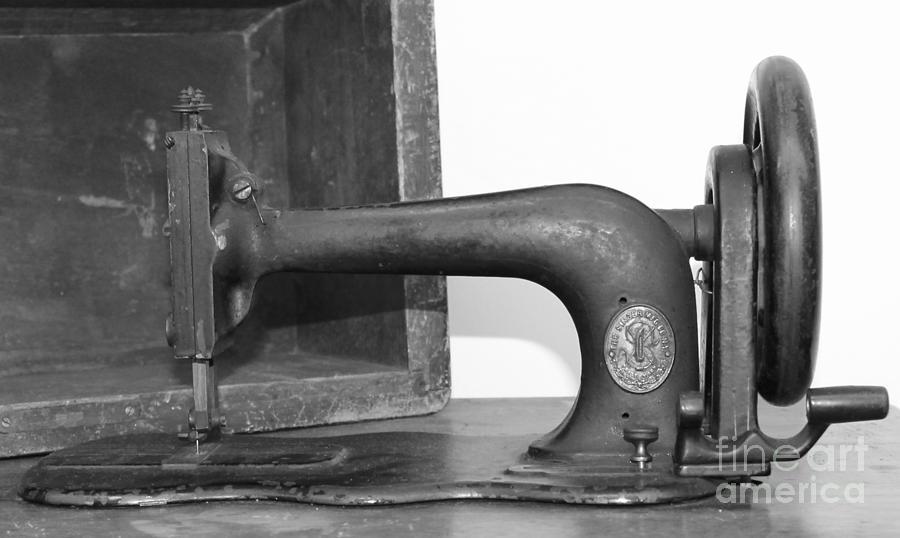 Sewing Photograph - Sewing Machine by Pamela Walrath