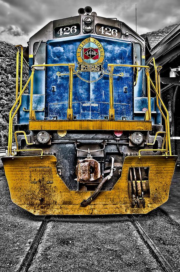 Locomotive Photograph - Sexy Beast 426 by Dmitriy Mirochnik