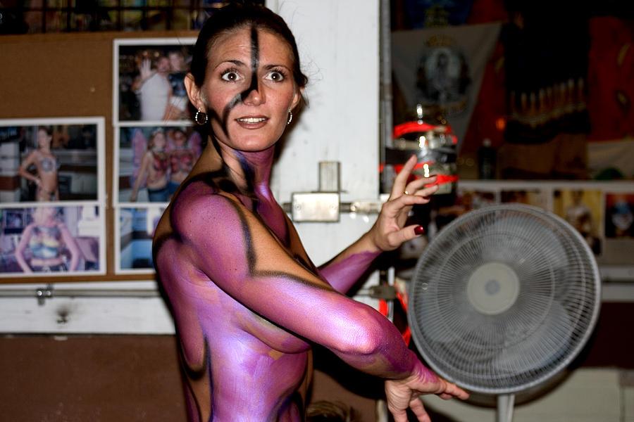 Body hardcore nude paint