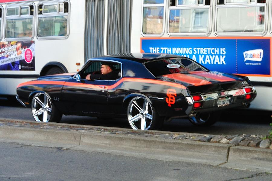 Sf Giants Muscle Car Photograph By Mychele White