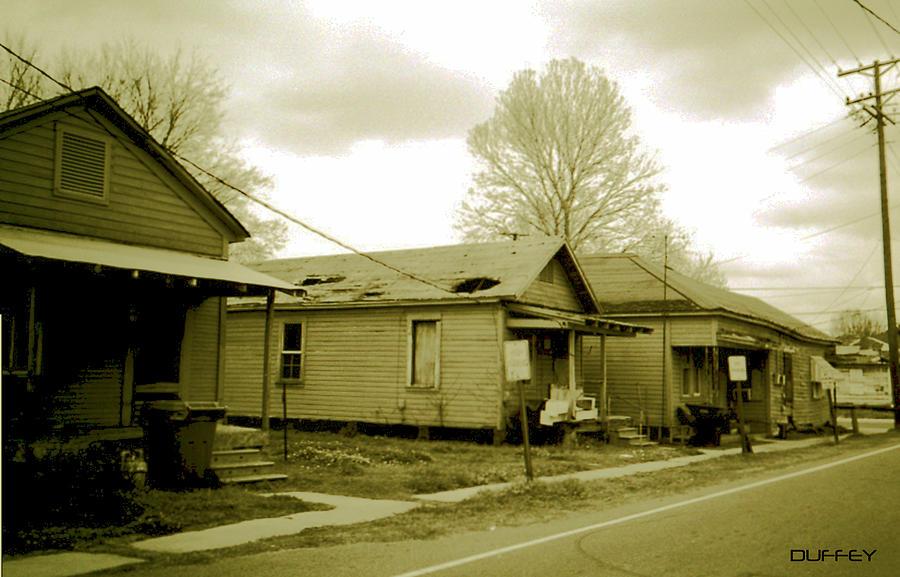 Louisiana Photograph - Shacks 4 by Doug Duffey