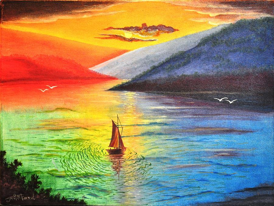 Shade Painting Shades Of Light Paintingjagdish Karial