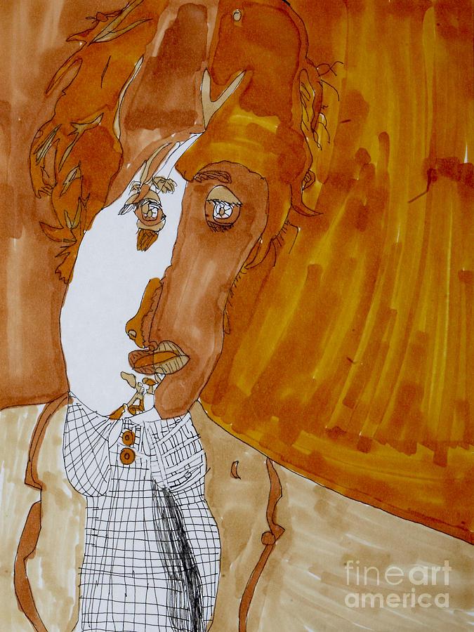 Paul Drawing - Shades Of Paul by Stephanie Ward