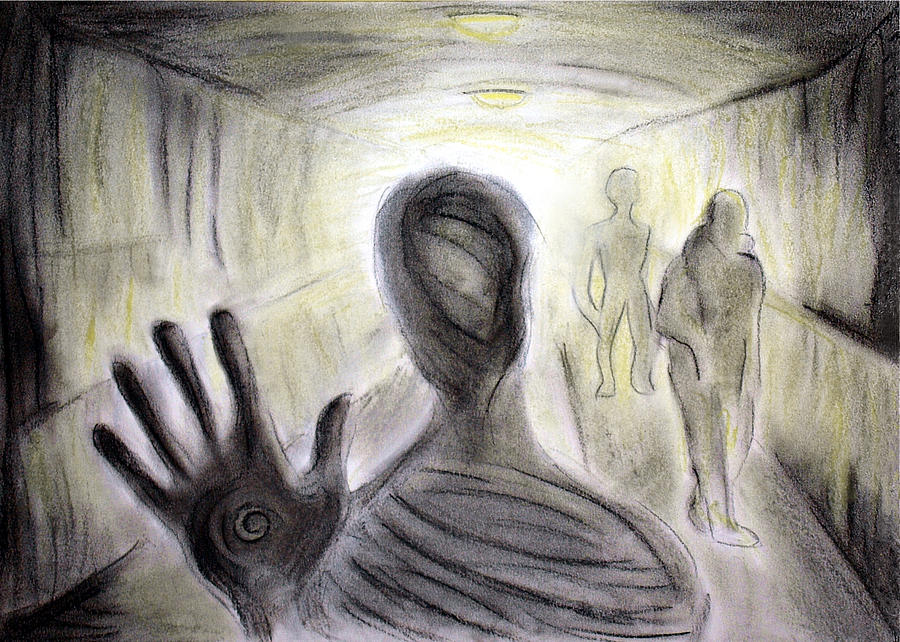 Image result for shadow person art