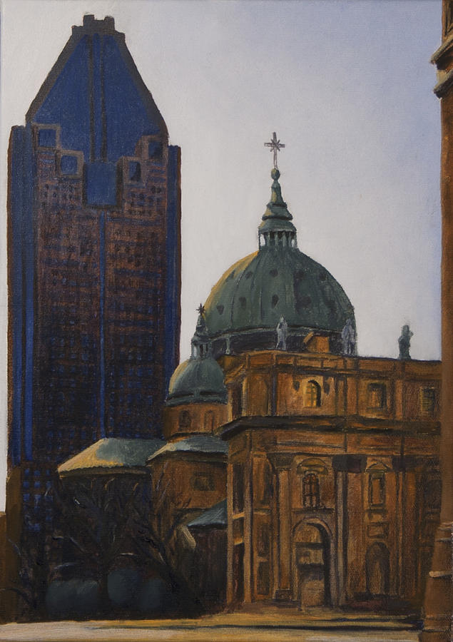 Rene Levesque Painting - Shadowed by Duane Gordon