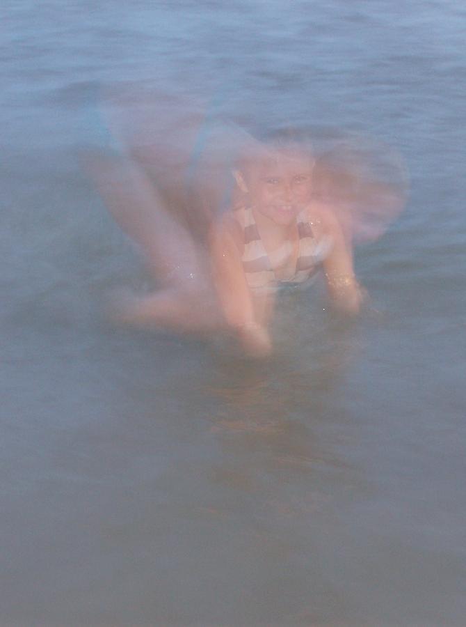 Lexi Photograph - Shadowed Lexi by Lori Jennerjohn