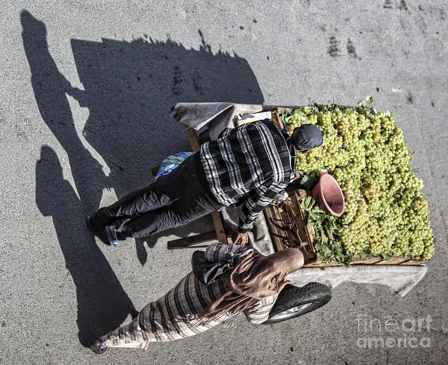 Morocco Photograph - Shadows 2 by Chuck Kuhn