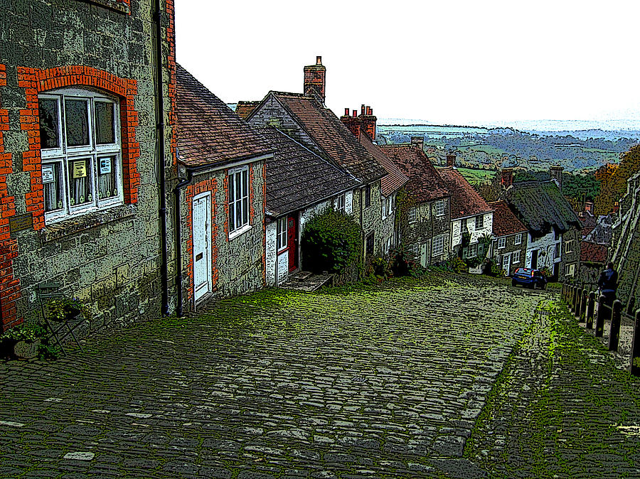 Shaftesbury Hill Photograph by Bournemouth Artist