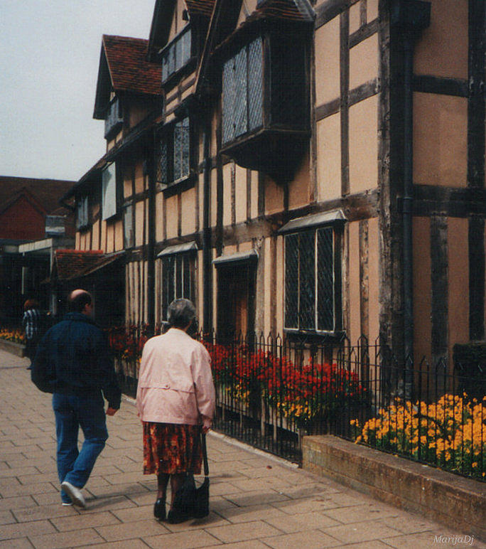 Travels Photograph - Shakespeares Birthplace by Marija Djedovic