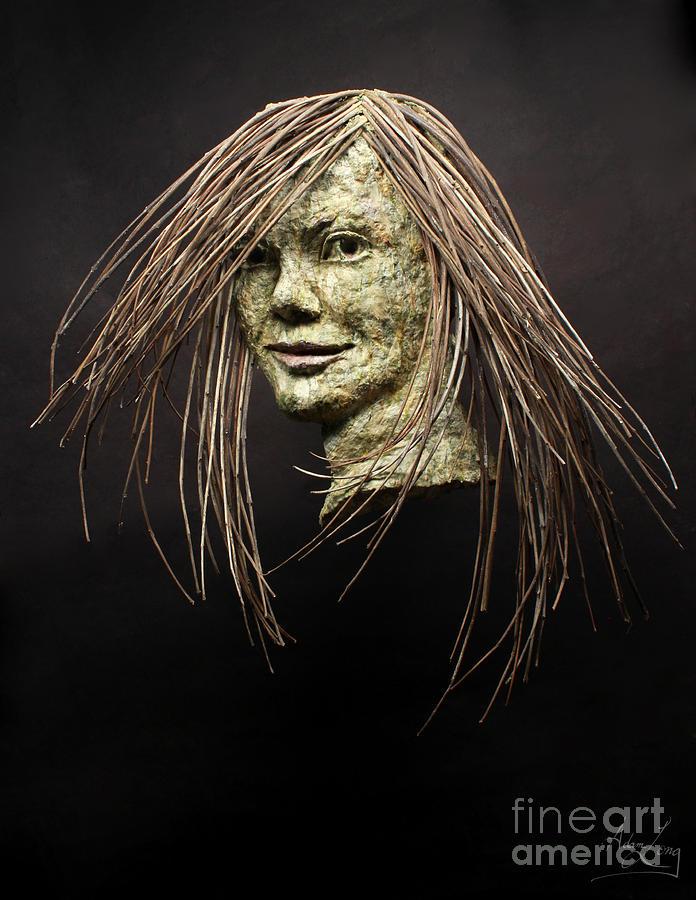 Sculpture Relief - Shana by Adam Long