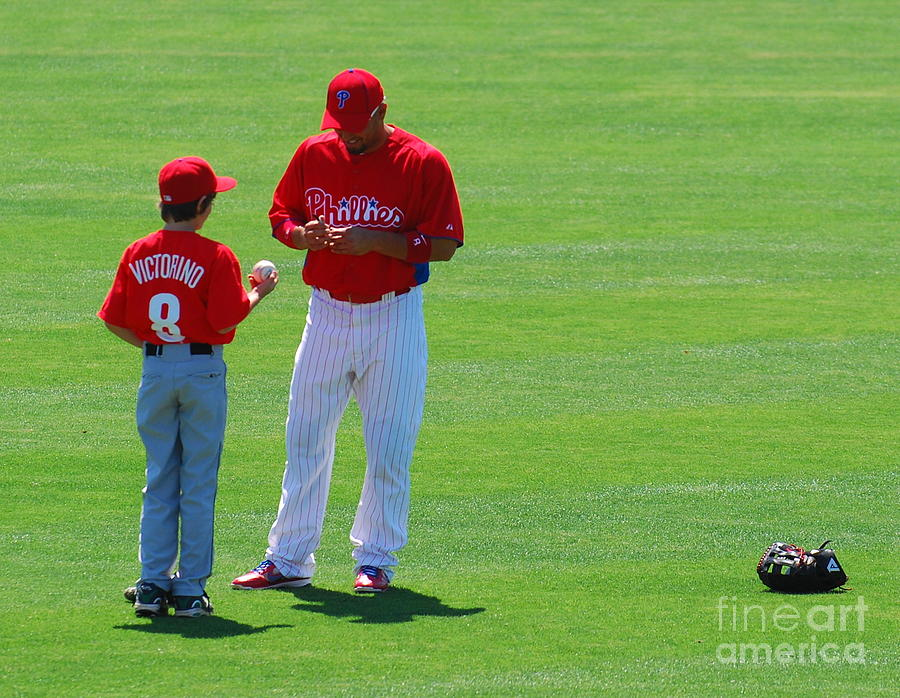 Mlb Photograph - Shane Victorino  by Carol Christopher