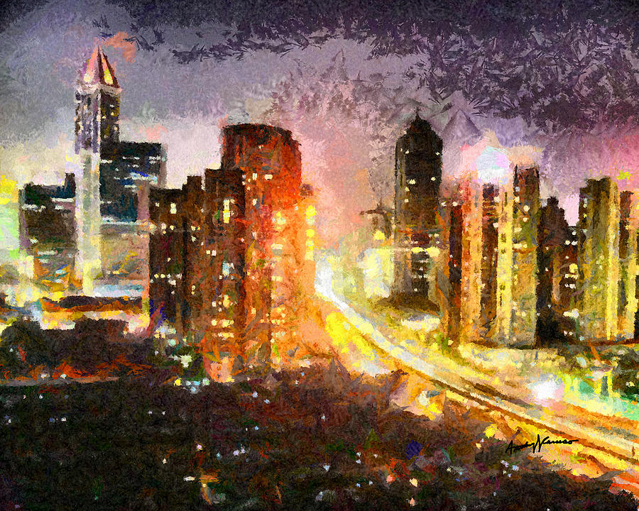 Cityscapes Painting - Shanghai by Anthony Caruso