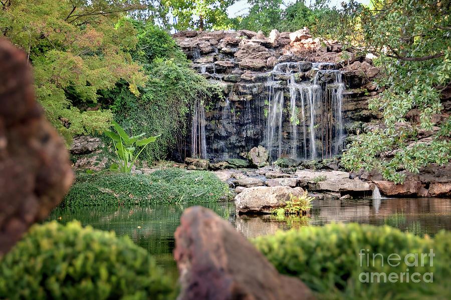 Waterfall Photograph - Shangri La by Tamyra Ayles