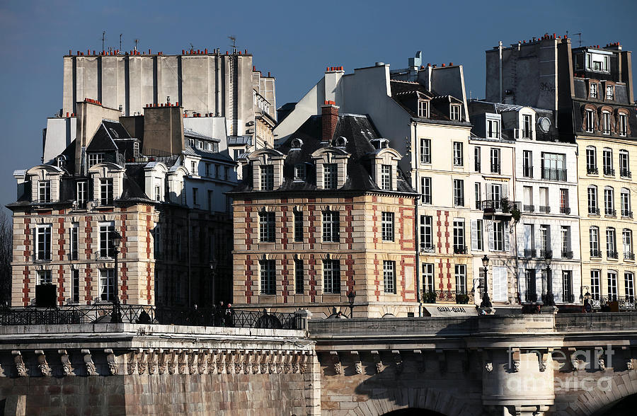 Shapes In Paris Photograph - Shapes In Paris by John Rizzuto