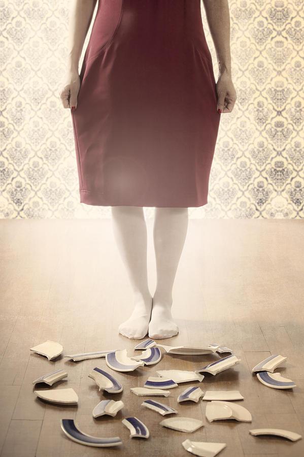 Feet Photograph - Shards by Joana Kruse