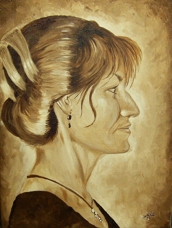 Sharon Painting - Sharon by Robert Fenwick May Jr