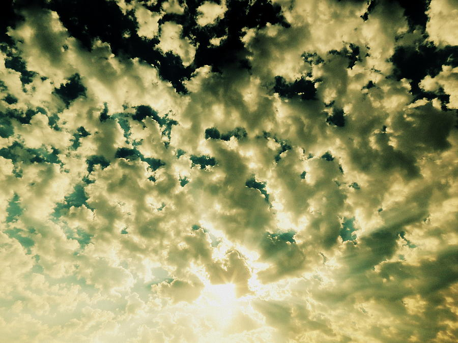 Cloud Photograph - Shattered by Ramona Johnston