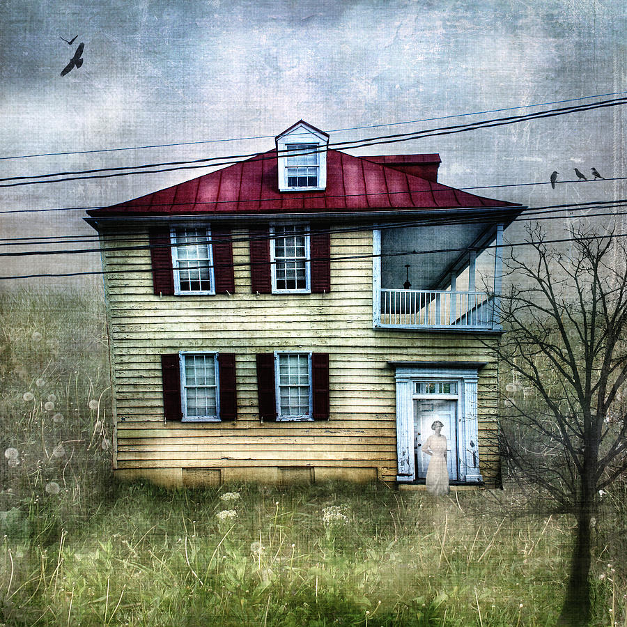 Lkg Photography Photograph - She Waits by Laura George