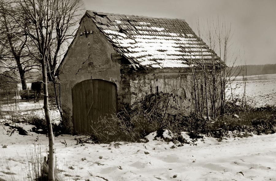 Photograph Photograph - Shed by Marcin and Dawid Witukiewicz