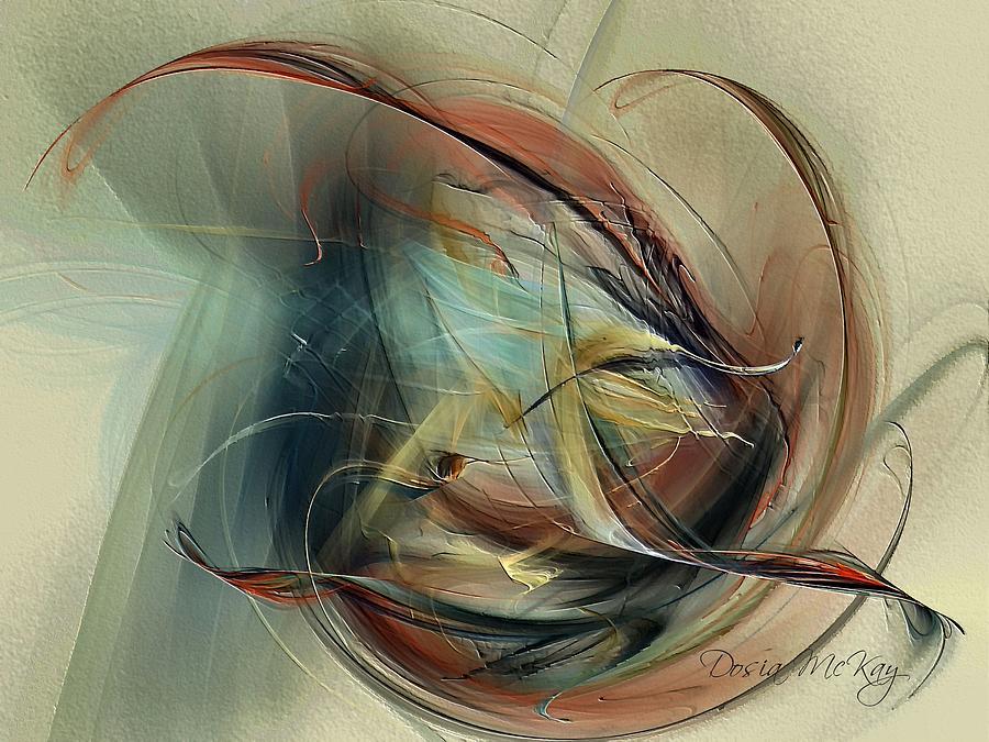 Shedding Digital Art - Shedding by Dosia McKay
