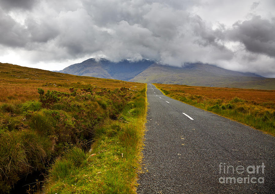 Mountain Photograph - Sheefry Hills by Gabriela Insuratelu